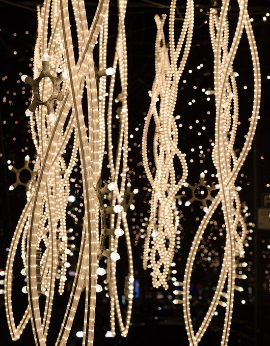 Weihnachtsbeleuchtung München.Brut Deluxe